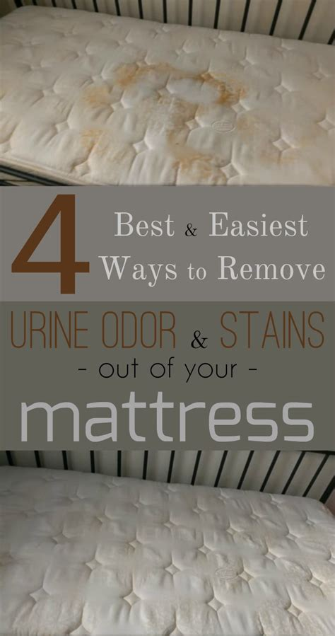 how to clean urine out of a mattress 4 best and easiest ways to remove urine odor and stains