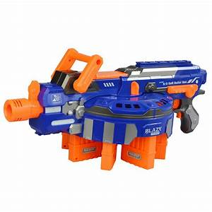 Electric Toy Gun NERF Toy Guns 48pcs Soft Bullet Big Gun ...