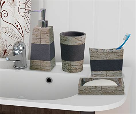 Rustic Bathroom Accessories Sets by Nusteel 4pc Rustic 8pc Set Bath Collection Rust