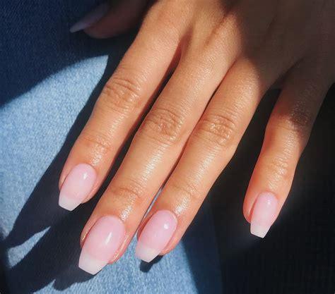 atvnezlee clear natural dip powder nails   powder