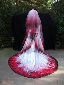 bloody wedding dress halloween pinterest With bloody wedding dress