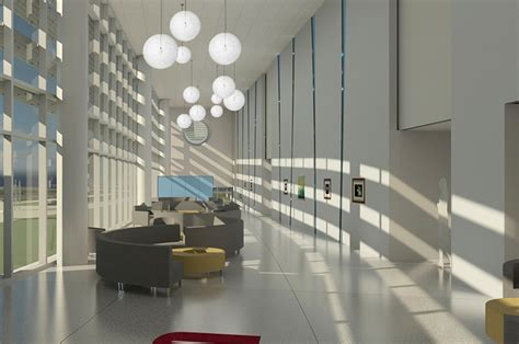 hok designs patient care center umsl colleges optometry