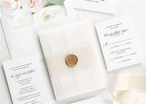 Luxury Wedding Invitations For