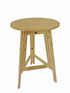 Tisch Klappbar Holz : clp bistro tisch rund 80 cm marville holz metall h he 75 cm farbwahl schwarz com forafrica ~ Orissabook.com Haus und Dekorationen