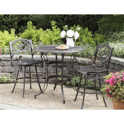 3 pc biscayne outdoor bistro set 224975 patio