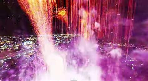 incredible fireworks filmed  drone spectacular images captured  gopro camera hovers