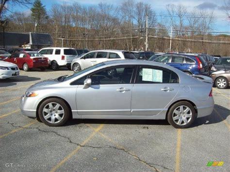 Alabaster Silver Metallic 2008 Honda Civic Lx Sedan