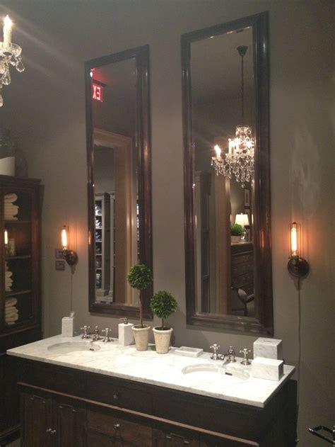 tall mirrors  bathroom restoration hardware