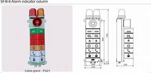 Marine Engine Room Alarm Column