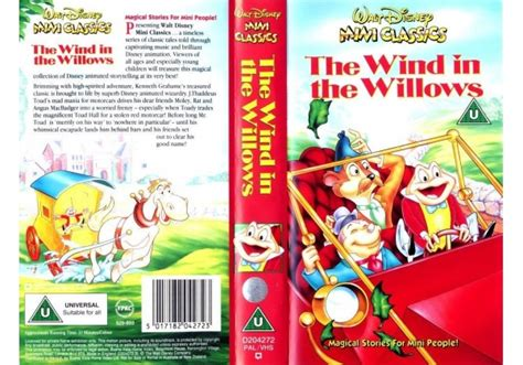 Wind In The Willows, The (1949) On Walt Disney Home Video