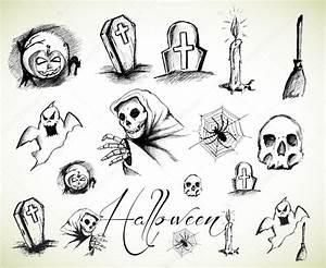 Easy Halloween Drawings For Kids