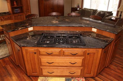 kitchen island range custom cabinets mn custom kitchen island