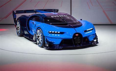New Bugatti Vision Gran Turismo