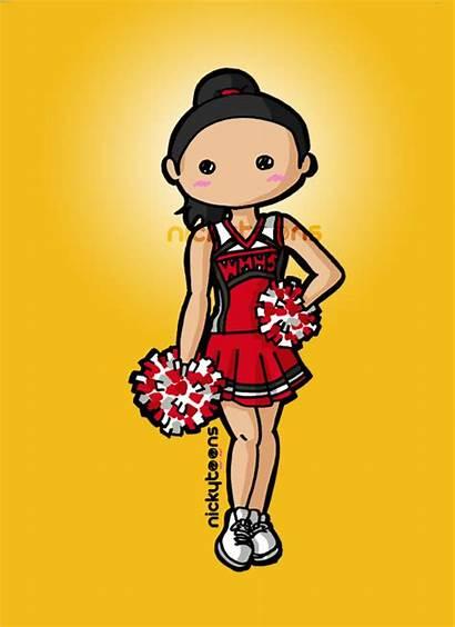 Glee Santana Lopez Deviantart Cast Rachel Drawings