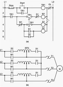 A  Hardwired Relay Circuit And  B  Wiring Diagram Of A Reduced