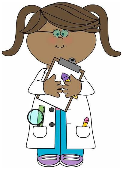Doctor Clipart Clip Cliparts Female Library Kid