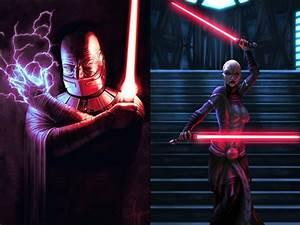 Darth Malak & Asajj Ventress vs Qui-Gon & Obi-Wan ...