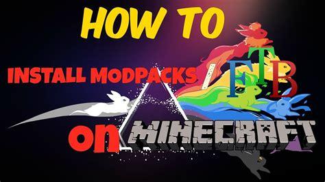 Ftb not downloading modpacks | whicowcara