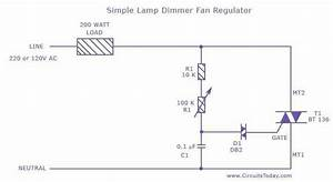 trigger what is the correct method for triac supply With 120v ac lamp dimmer