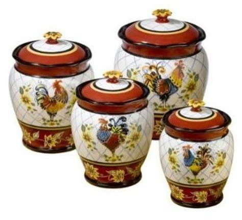 rooster kitchen canisters 75 best canisters images on kitchen ideas