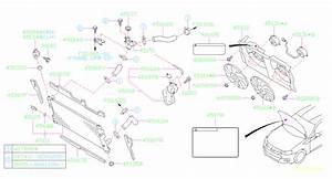 Subaru Brz Engine Coolant Filler Neck Bracket