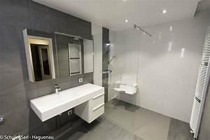 Chauffage Infrarouge Salle De Bain : nos salle de bains accessibles ou pmr schuler sarl ~ Dailycaller-alerts.com Idées de Décoration