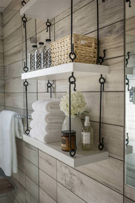 shelves hanging wall bathroom clever designs furniture shelf shelving storage hang toilet bath decor bathrooms walls above cabinet modern room