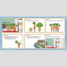 * New * Carrot Club Talk Cards  Originals, Fiction, Ks1, Healthy Eating