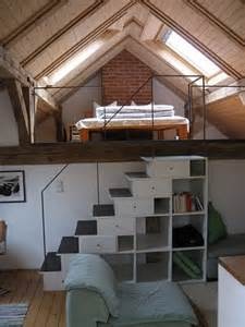 loft treppe dachboden treppe pedalo lofts tiny houses and attic