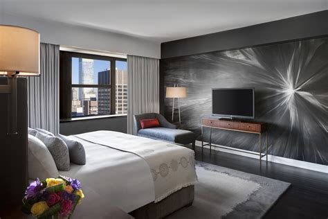 If you're willing to stay elsewhere, several of the affinia.com hotels have 2 bed/2bath apts. Suite Discoveries: Contemporary Luxury High Above ...