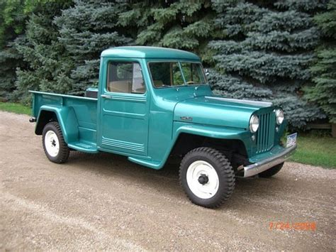old truck jeep 1949 willys jeep pickup willys jeep pinterest