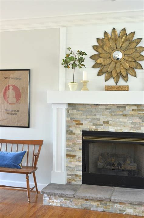 Living Room Makeovers Pinterest by Diy Fireplace Makeover At Home With The Barkers