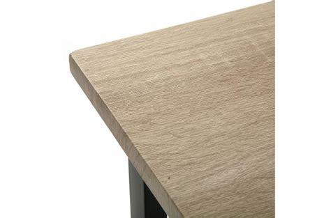 bureau industriel metal et bois bureau pliable industriel bois et métal evamon design sur