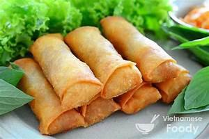 Vietnamese Egg Rolls Recipe (Nem Rán) - Vietnamese Foody