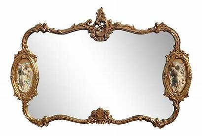 Mirror Mantle Italian French Rococo Louis Baroque