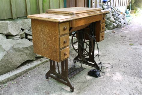resurface kitchen cabinet singer treadle sewing machine 1919 collectors weekly 1919