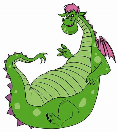 Dragon Puff Magic Clipart Cartoon Elliott Pete