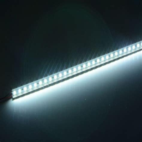 5pcs lot aluminum led rigid light ultra slim 12v dc
