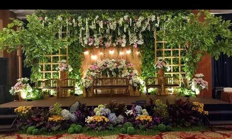 dekorasi pelaminan pengantin rustik cmc wedding