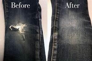 Comment Réparer Un Liner Déchiré : comment reparer les genoux d 39 un jean la r ponse est sur ~ Maxctalentgroup.com Avis de Voitures