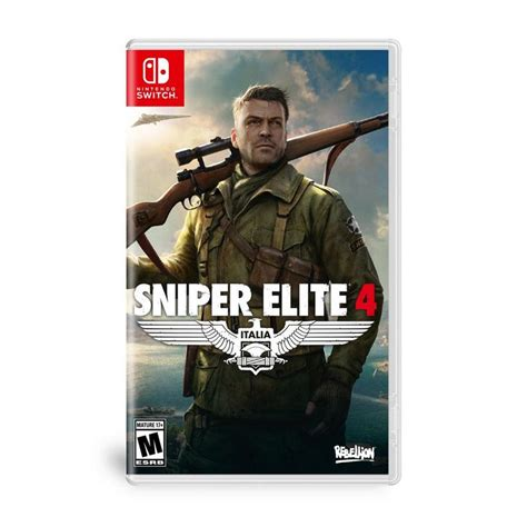 Sniper Elite 4 Nintendo Switch Gamestop