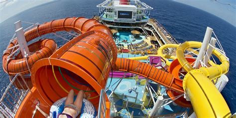 first inside carnival s first new ship in four years
