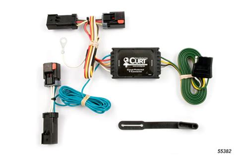 Jeep Trailer Wiring Harnes 2004 by Jeep Liberty 2002 2007 Wiring Kit Harness Curt Mfg