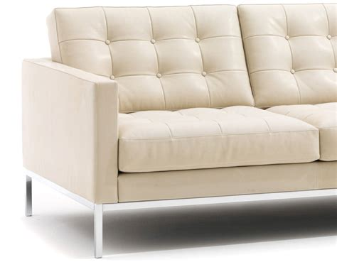 settee furniture florence knoll relaxed sofa hivemodern