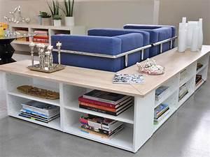 Console Derriere Canapé : rangement derri re canap meubles deco salon living ~ Melissatoandfro.com Idées de Décoration