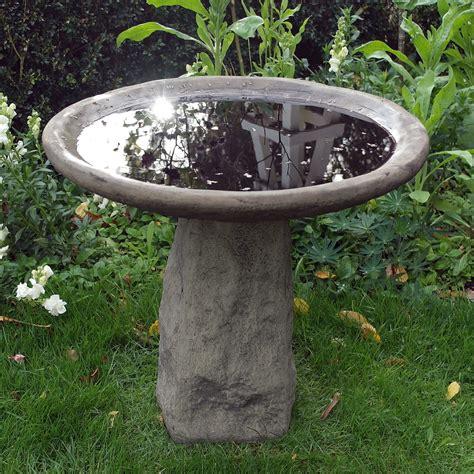 garden bird bath feeder staddle stone birdbath ebay