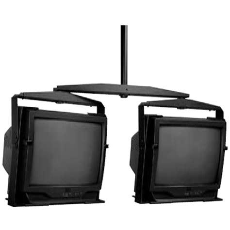 Peerless Dual Ceiling Mount by Peerless Dual Monitor Display Ceiling Mounts For 13