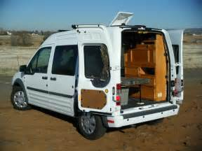 RV Ford Transit Connect Camper Conversion