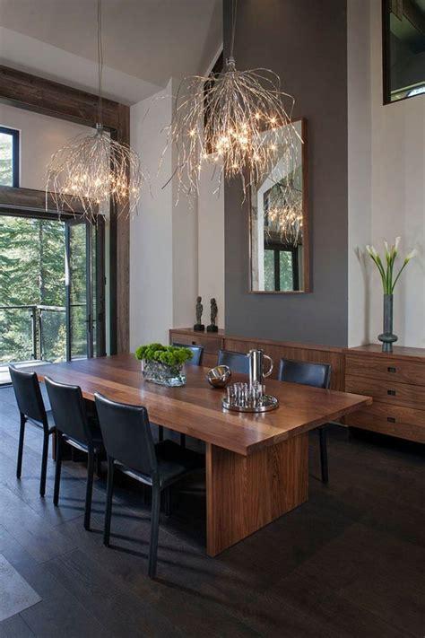 Esszimmer Le Hohe Decke by Lichtfaden Effektvoll Kronleuchter Design Esszimmer Hohe