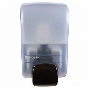 San Jamar S900tbl Rely Arctic Blue Manual Soap  Sanitizer